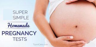 homemade pregnancy test