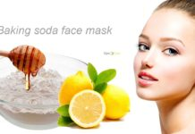 baking soda face mask