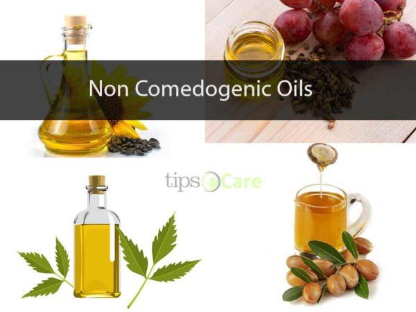 non comedogenic oils
