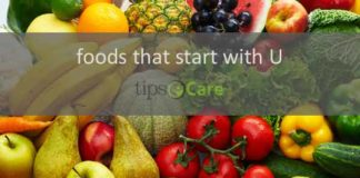 food that starts with u