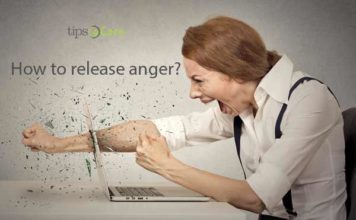 how to release anger